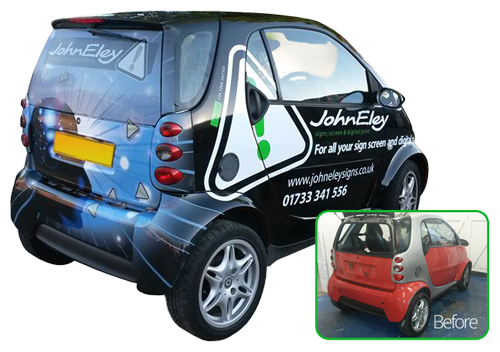 Vehicle Wrap Services Peterborough
