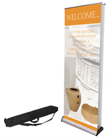 Double Sided Roll Banner